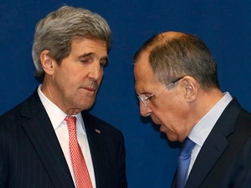 Kerry ile Lavrov görüştü