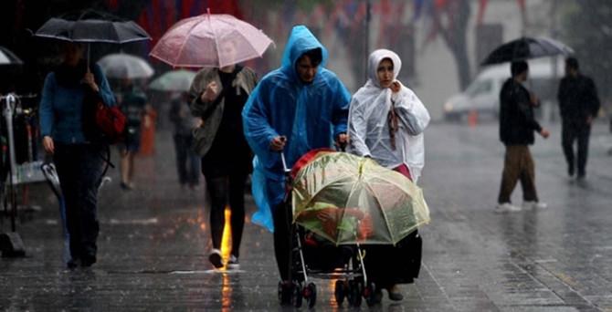 Kuvvetli yağış etkisini sürdürüyor