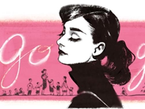 Google'dan Audrey Hepburn'e özel doodle