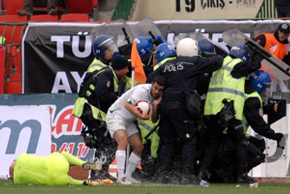 Diyarbakırspor maçı tatil edildi