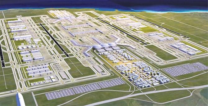'3'üncü havalimanına Hazine garantisi yok'