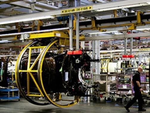 Euro Bölgesinde sanayi üretimi beklentiler altında