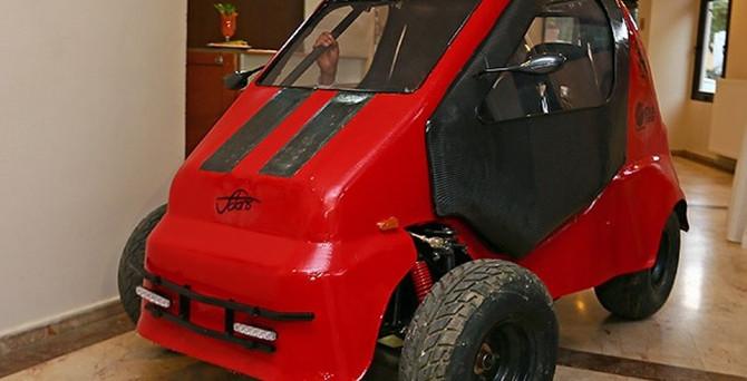 İşte Türkiye'nin ilk 4 tekerlekli elektrikli otomobili