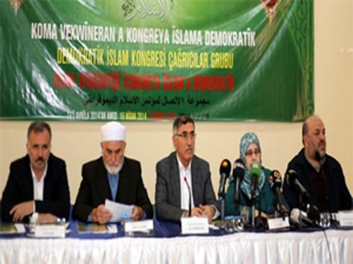 'Demokratik İslam Kongresi' Sonuç Bildirgesi Yayımlandı