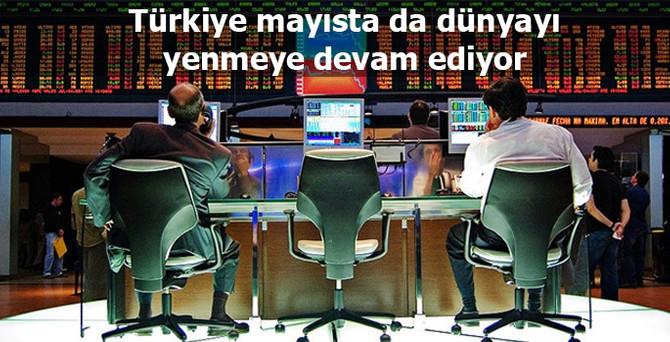 Türkiye mayısta da dünyayı yenmeye devam ediyor