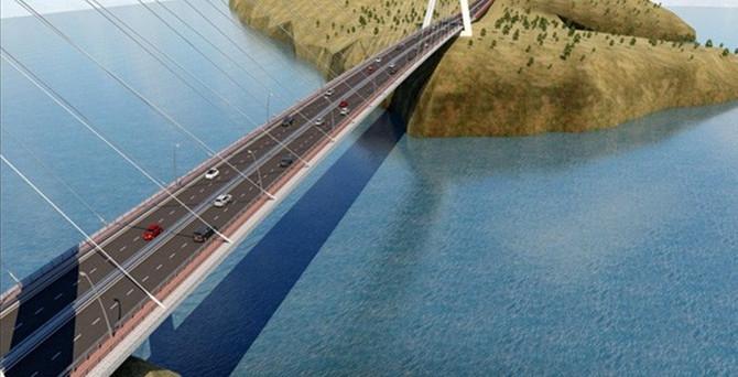 En uzun üçüncü köprüde sona yaklaşılıyor