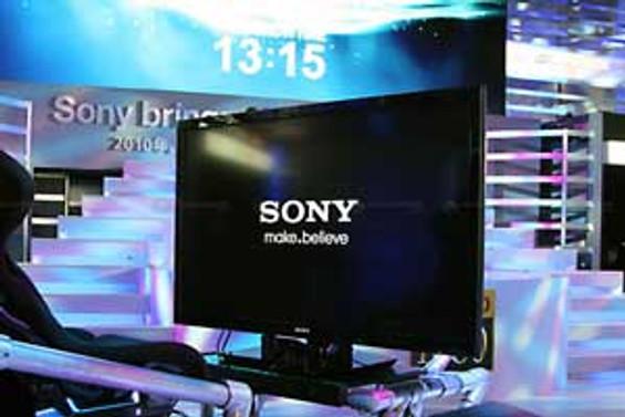 Sony Bravia ile evde 3D keyfi başlıyor