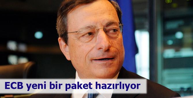 ECB yeni bir paket hazırlıyor