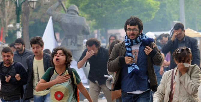Ankara ve İstanbul'da Soma protestoları