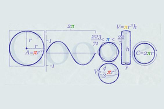 Google, 'Pi Sayısı' için özel logo hazırladı