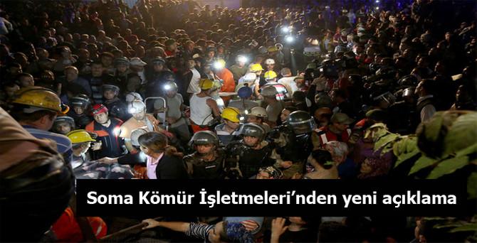 Soma Kömür İşletmeleri'nden yeni açıklama