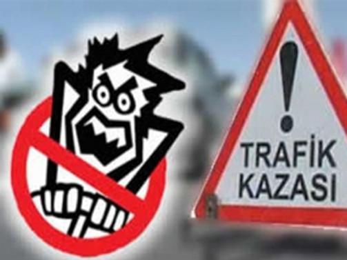 Trafik kazaları arttı