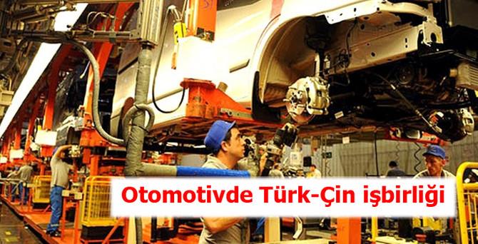 Otomotivde Türk-Çin iş birliği