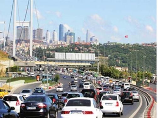 Köprü ve otoyollardan 713.5 milyon lira gelir