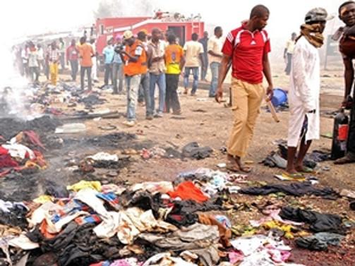 Nijerya'da bombalı saldırı: 40 ölü