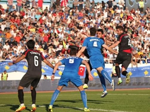 Milliler özel maçta fark attı