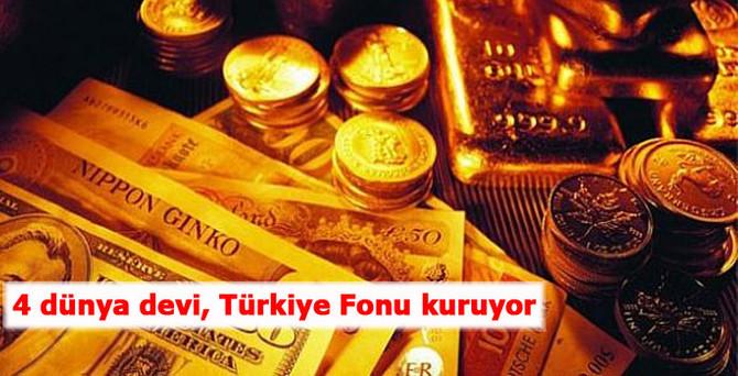 4 dünya devi, Türkiye Fonu kuruyor
