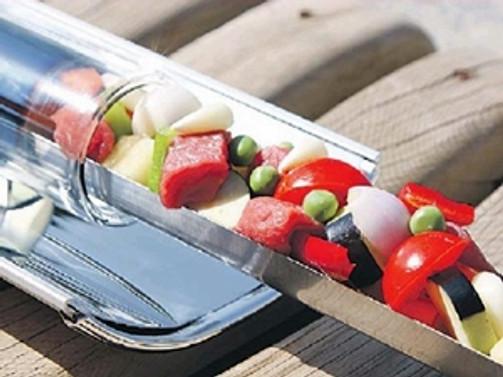 Yemekler artık güneş enerjisiyle pişecek