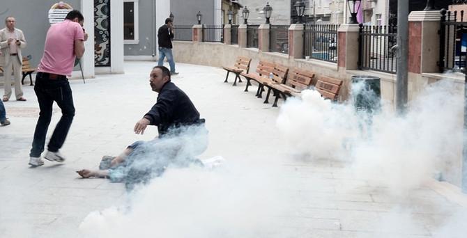 Okmeydanı'nda çatışma: 1 kişi ağır yaralı