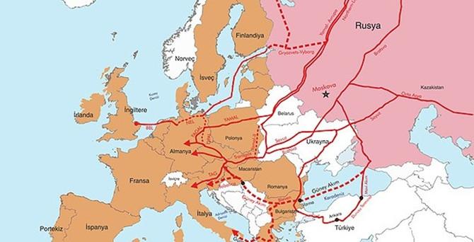 Rusya'nın doğalgaz kartının Avrupa'ya etkisi sınırlı