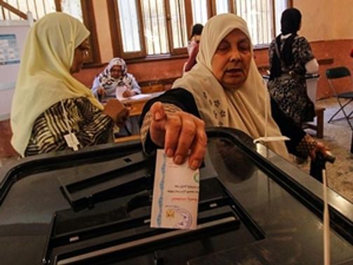 Mısır'da cumhurbaşkanlığı seçiminde ikinci gün