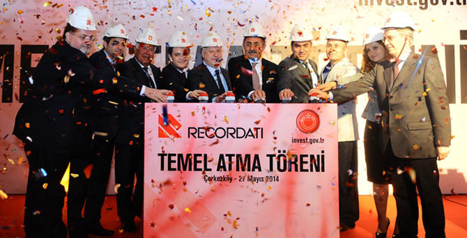Recordati, Çerkezköy'de temeli attı