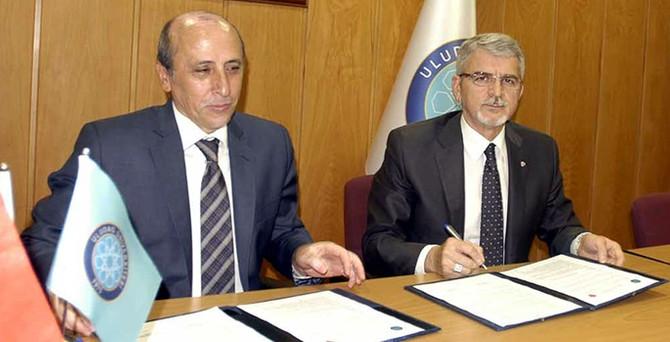 Çilek ve UÜ, işbirliği protokolü imzaladı