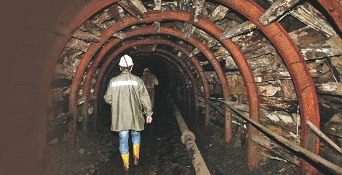Çinko madeninde göçük; 1 ölü, 1 yaralı