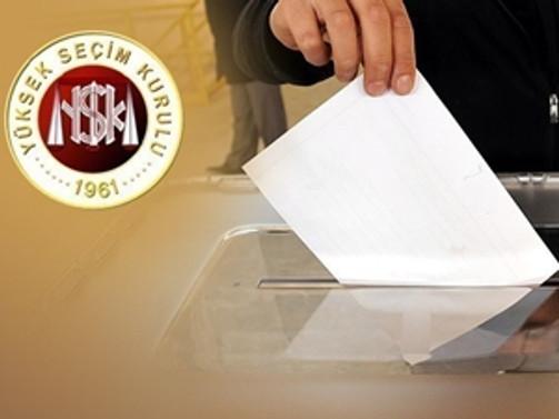 YSK'nın seçim yasakları Resmi Gazete'de
