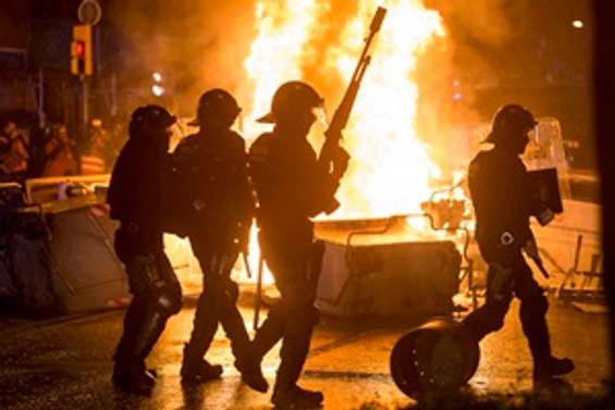 Barselona'da şiddet dinmiyor