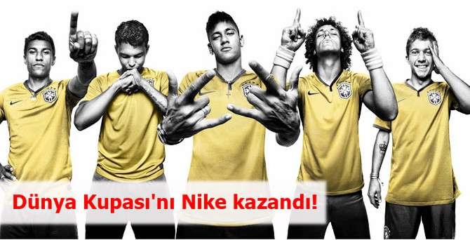 Dünya Kupası'nı Nike kazandı!