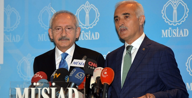 Kılıçdaroğlu, MÜSİAD ve TUSKON'u ziyaret etti