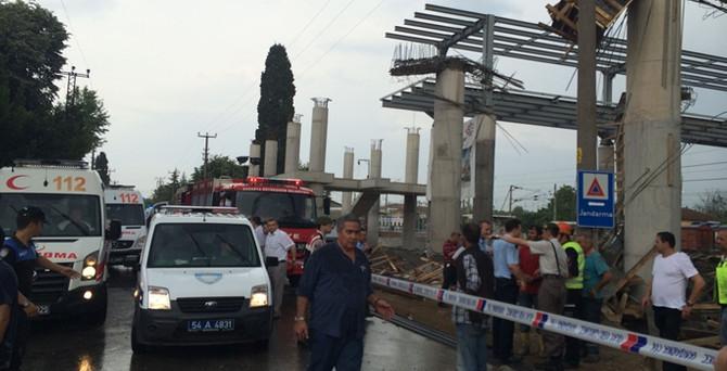 YHT istasyonu çöktü: 6 yaralı