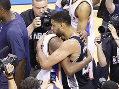 Batı'nın şampiyonu San Antonio Spurs