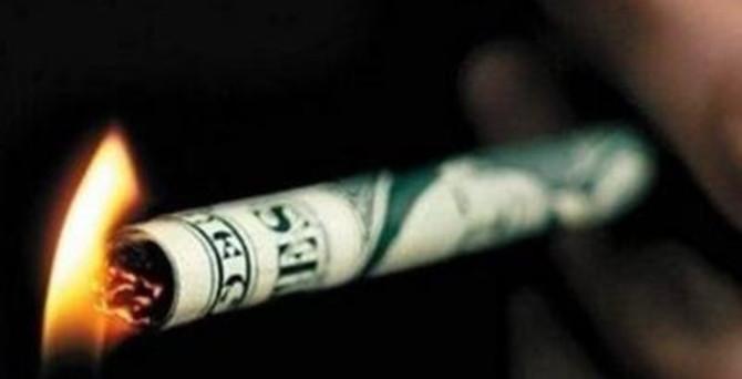 Sigaraya 10 yılda 206 milyar lira harcadık