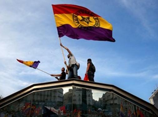 İspanyollar 'Cumhuriyet' istiyor