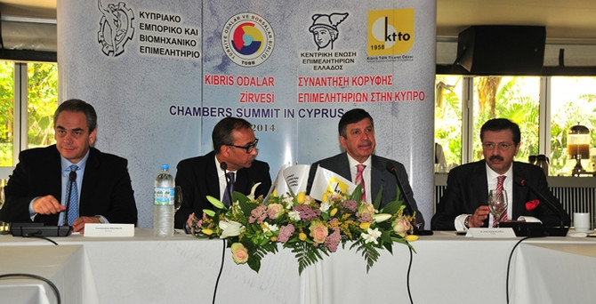 Kıbrıs'ta tarihi 4'lü zirve
