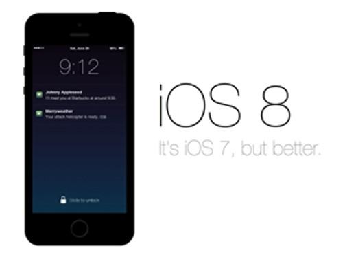 iOS 8 bu akşam geliyor