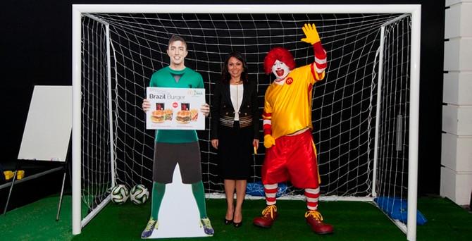 McDonald's'tan Dünya Kupası'na özel 'Brazil Burger'