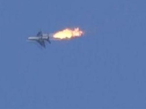 Kaliforniya'da savaş uçağı düştü