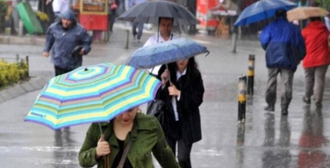 Meteoroloji'den 4 ile yağış uyarısı