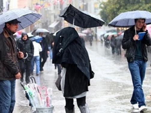 Ege'ye kuvvetli yağış uyarısı!
