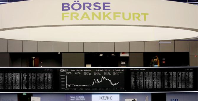 Alman borsası tarihinde ilk kez 10 bin puanı aştı