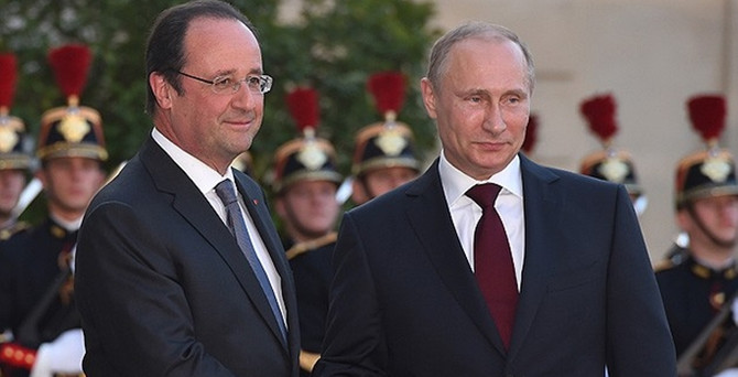 Paris'te diplomasi trafiği