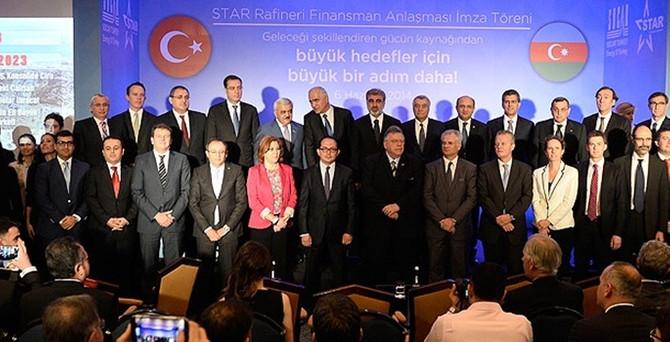 STAR'ın finansmanı için 3.3 milyar $'lık imza atıldı