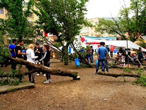 Amasya'da park için yürütmeyi durdurma kararı