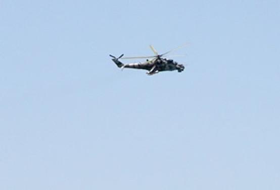 Ezidilere yardım taşıyan helikopter düştü