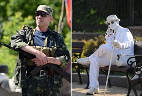 Ukrayna'da bir kent iki yaşam