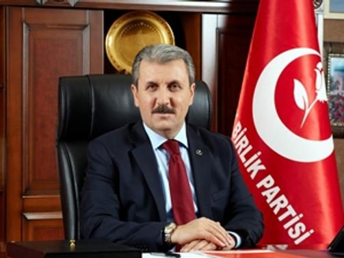 Destici, yeniden genel başkanlığa seçildi