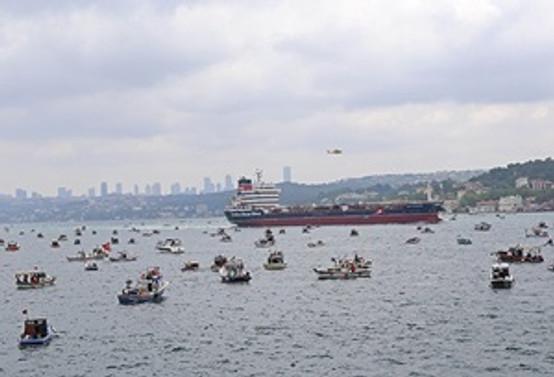 Türk Boğazları için denizde eylem